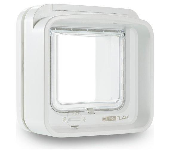SureFlap Dualscan Microchip Cat Flap - An Upgrade On The Standard Microchip Cat Flap - Cat Out Of House.co.uk