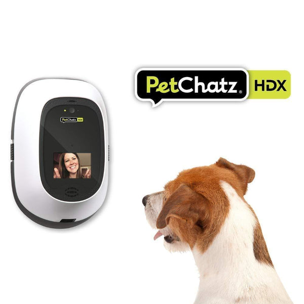 PetChatz HDX: 2-Way Audio & Video Pet Treat Camera, HD 1080p, Motion/Sound Detection Smart Video Recording. - Cat Out Of House.co.uk