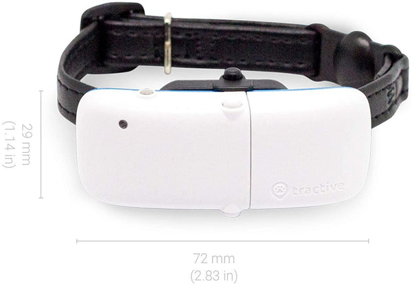 Tractive GPS collar for Cats, Tracker with unlimited Range, Activity Monitor.