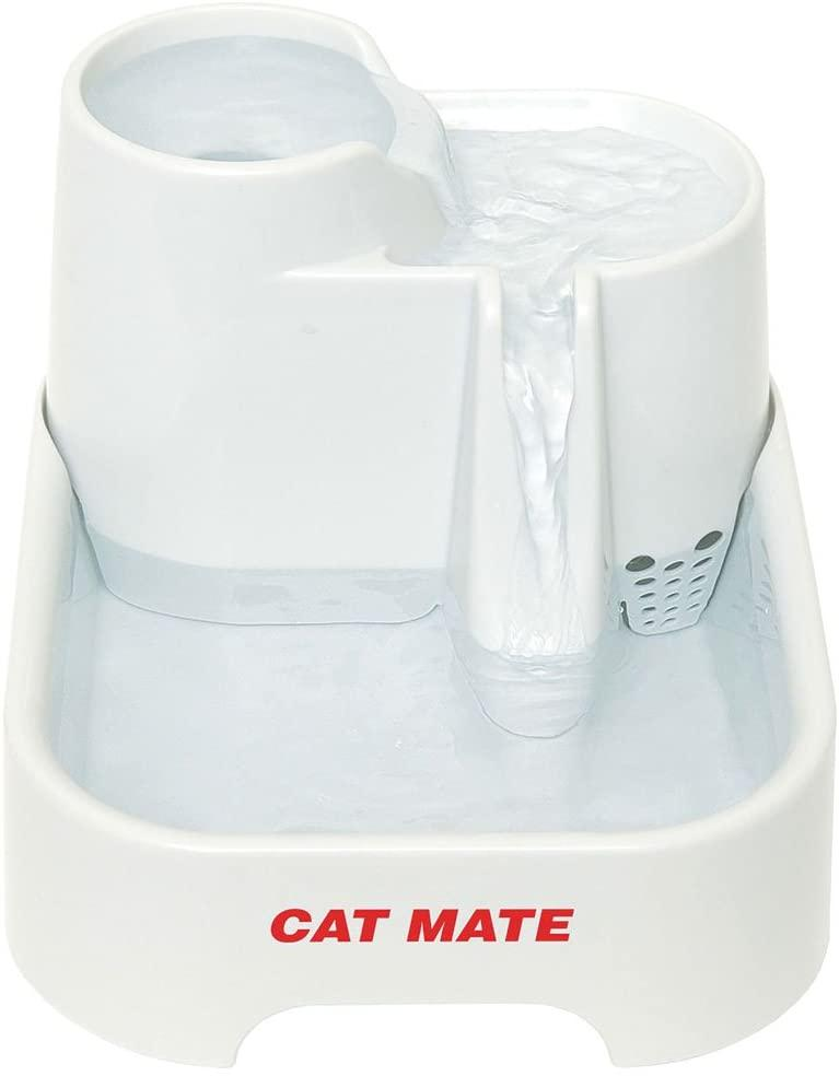 Cat Mate Replacement Filter Cartridges for Use with Cat and Dog Mate Pet Fountains, Pack of 6