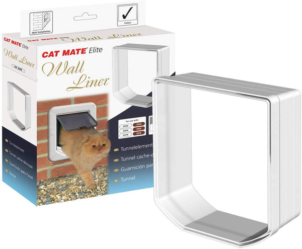 Cat Mate Elite Wall Liner White