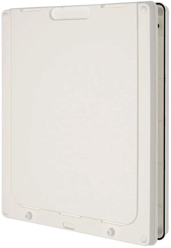 Dog Mate Large Dog Door, White