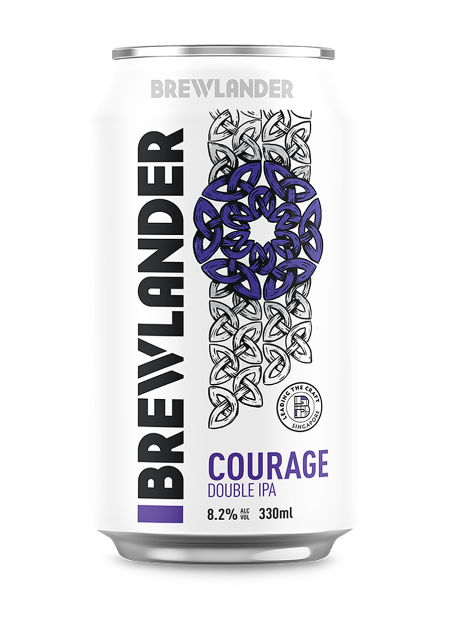 Courage Double IPA On-Site Purchase