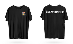 Brewlander T-Shirt - Black - On-Site Purchase