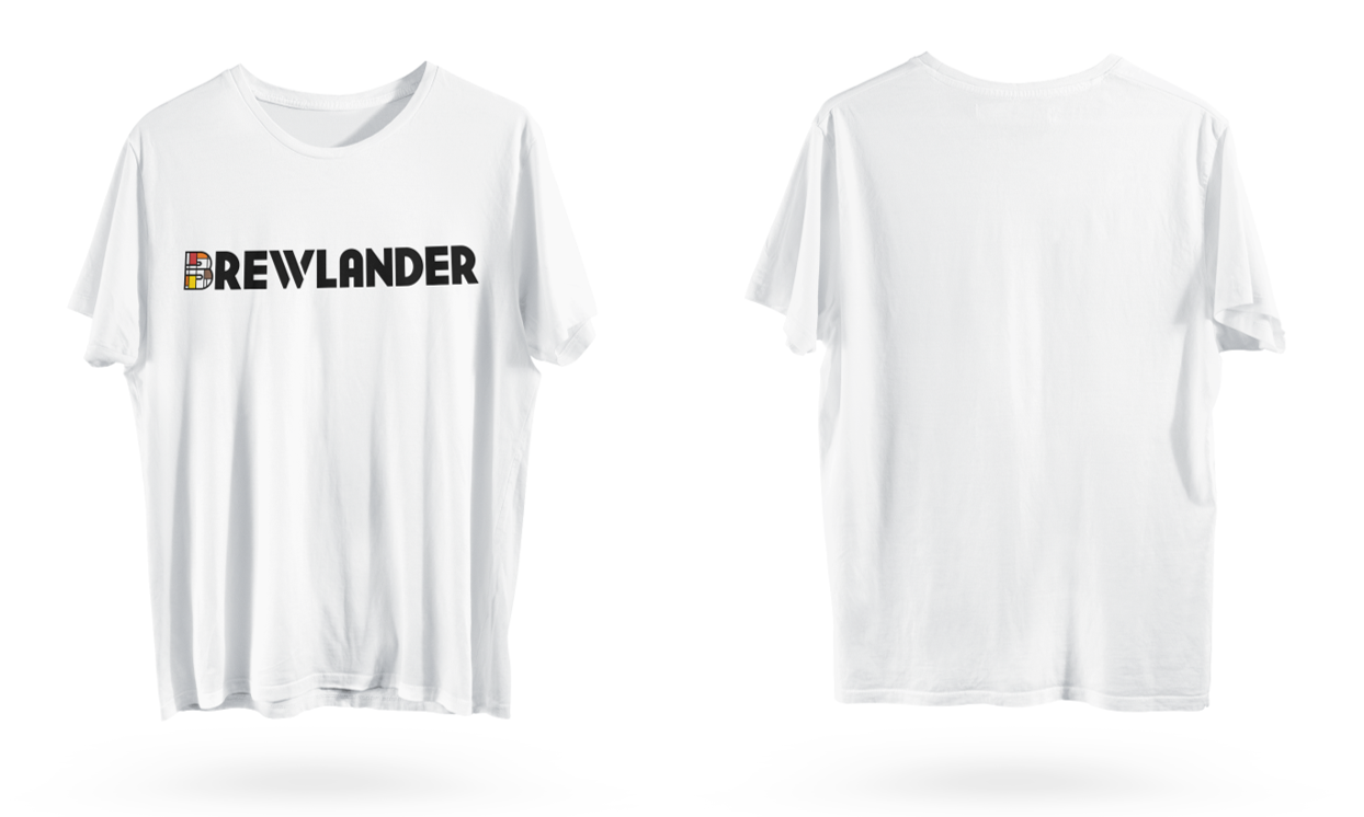 Brewlander T-Shirt - White - On-Site Purchase