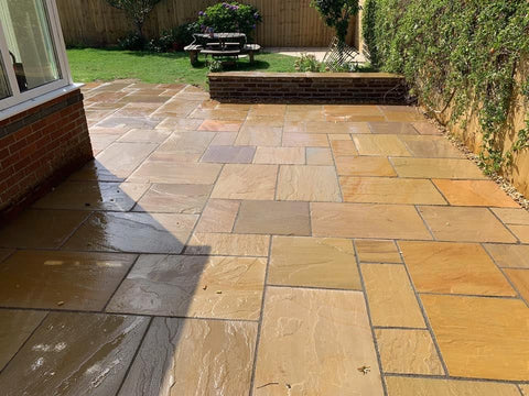 Plymouth Block Paving Marshalls Indian Sandstone