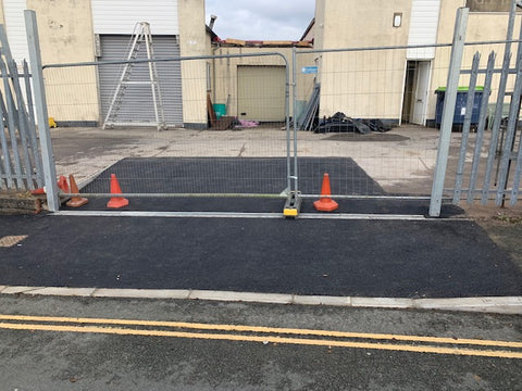 Plymouth Block Paving Dropped Kerb Pictures