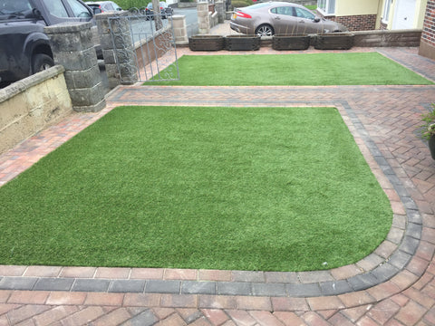 Plymouth Block Paving Artificial Grass