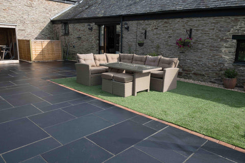 Plymouth Block Paving Marshalls Limstone Paving