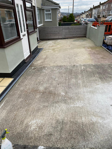 Plymouth Block Paving Resin Before Photo