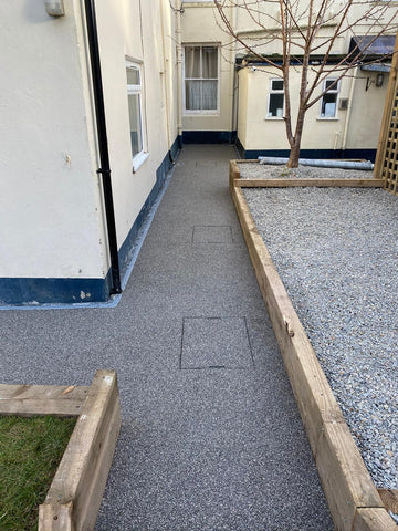 Plymouth Block Paving Resin After Photo