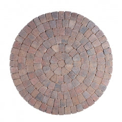 Heather Tegula Circles Block Paving
