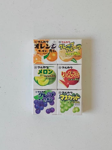 Fruit 6 Mable Gum 6pcs