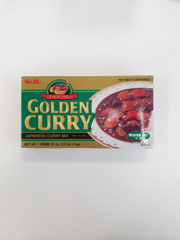 Golden Curry Sauce Mix (Medium Hot) 1kg