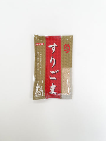 Surigoma Shiro (Ground White Sesame Seeds) 40g