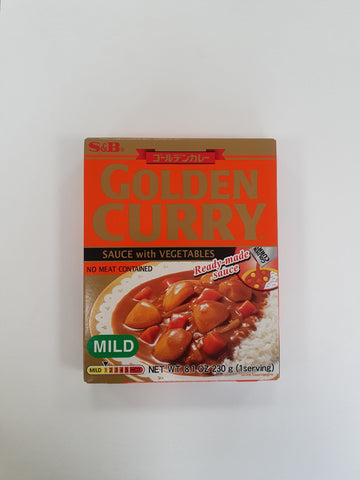Golden Curry Sauce with Vegetables (Mild) [Pouch] 230g