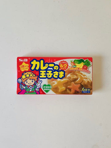 Curry no Ohjisama 80g