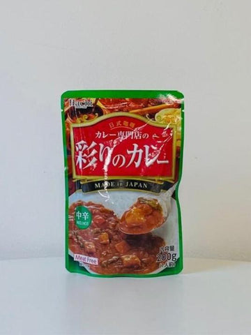Irodori no Curry Sauce Mix (Medium Hot) 200g