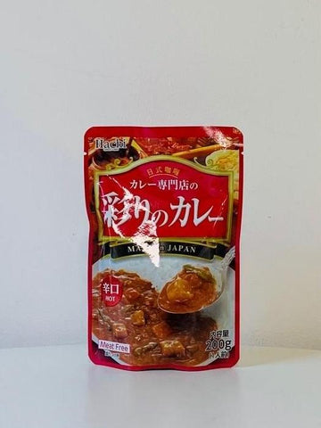 Irodori no Curry Sauce Mix (Hot) 200g