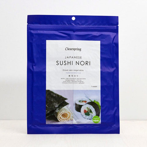 Japanese Sushi Nori - Dried Sea Vegetable - 7 sheets