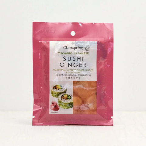 Organic Japanese Sushi Ginger Pickle 50g