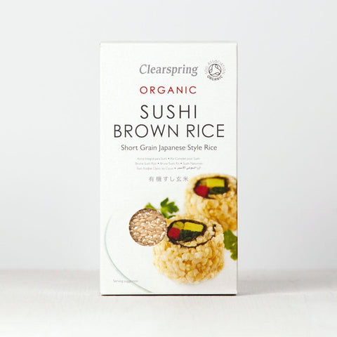 Organic Sushi Brown Rice 500g