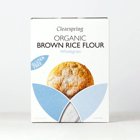 Organic Gluten Free Brown Rice Flour 375g