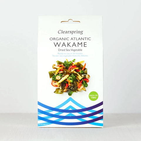 Organice Atlantic Wakame - Dried Sea Vegetable 25g