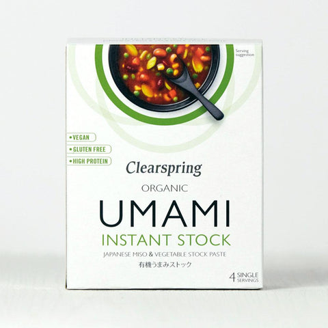 Organic Umami Instant Stock - Miso & Vegetable Stock Paste 28g