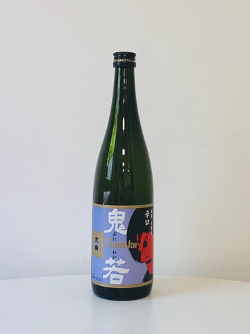 Honjozo Oniwaka 720ml (Alcohol 15%)