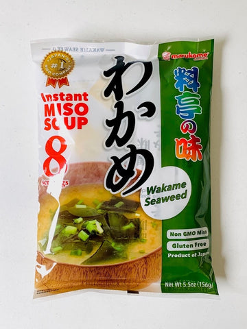 Ryotei no Aji Miso Soup Wakame 8 servings