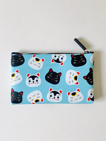 Nuu Japan (Silicone Pouch) - Cats Blue