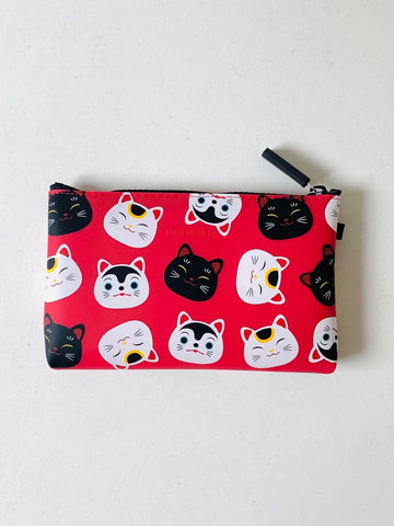 Nuu Japan (Silicone Pouch) - Cats Red