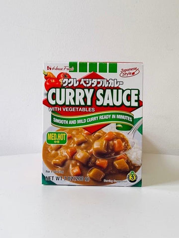 Kukure Vegetable Curry Sauce Mix (Medium Hot) 200g