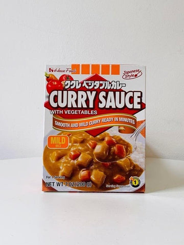Kukure Vegetable Curry Sauce Mix (Mild) 200g
