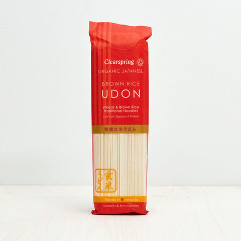 Organic Japanese Brown Rice Udon Noodles 200g
