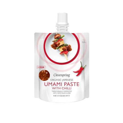 Organic Japanese Umami Paste with Chilli 150g