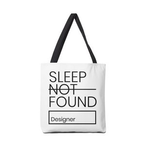 Open image in slideshow, SLEEP NOT FOUND | Designer Bag