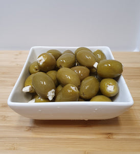 Stuffed Green Olives with Feta (200g)
