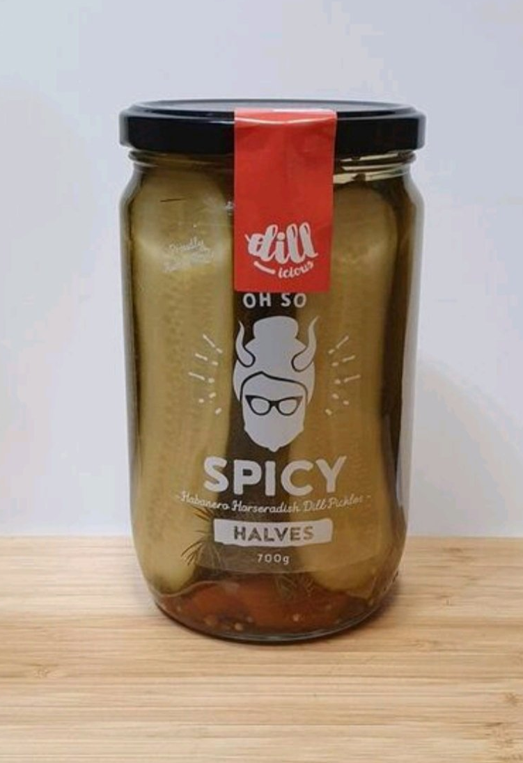 Pickle Halves - Spicy