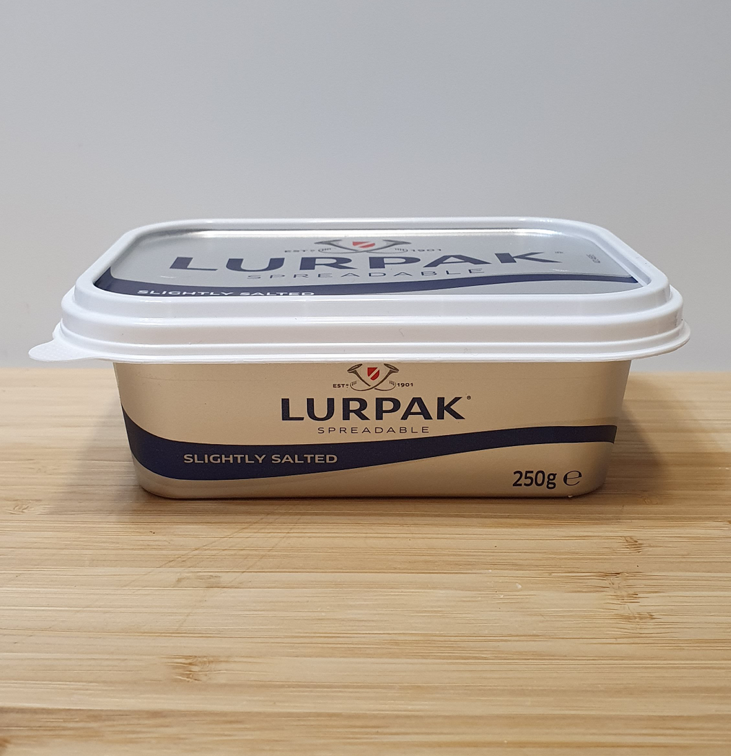 Lurpak Spreadable Butter Slightly Salted