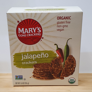 Mary's Gone Crackers - Jalapeno