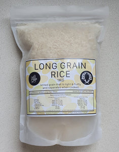 White Rice Long Grain 1kg