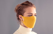 Load image into Gallery viewer, Adults One Piece Mask - Mustard