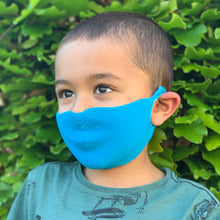 Load image into Gallery viewer, Kids One Piece Mask - Bright Blue