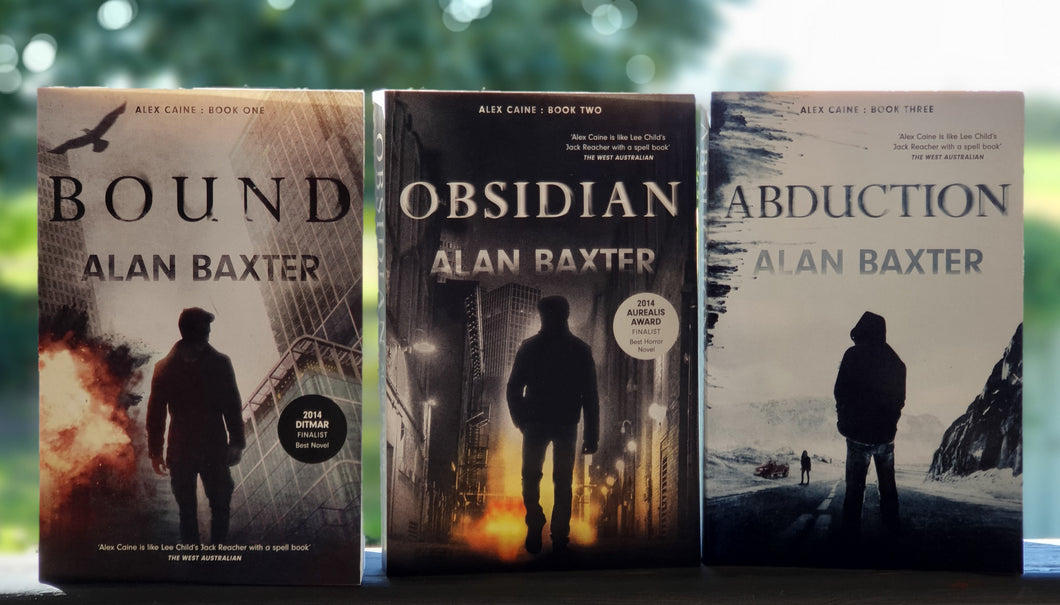 Book | The Alex Caine Series