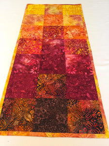 Table Runner | Batik Table Runner - Sunset in the Bay