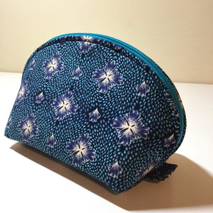 Pouch  | ClamShell Pouch - Peacock Blue