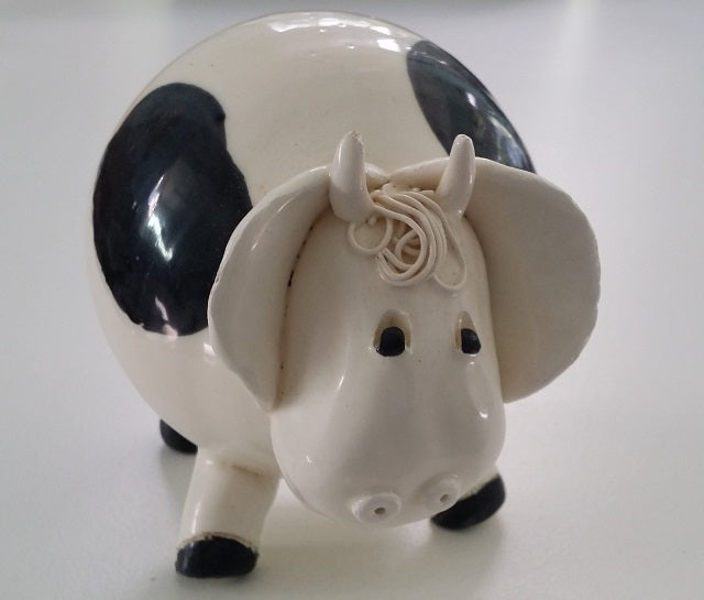 Pottery | Friesian Cow
