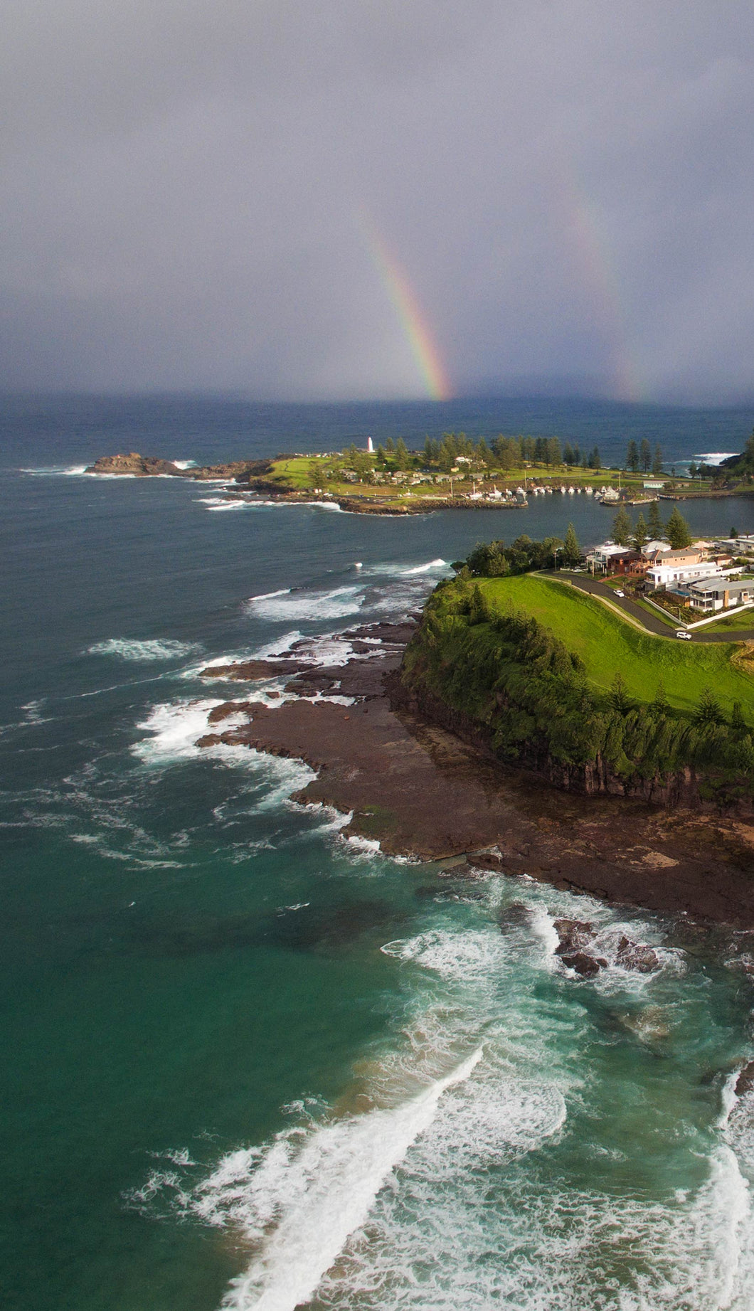 Photography Print | Kiama Double Rainbow